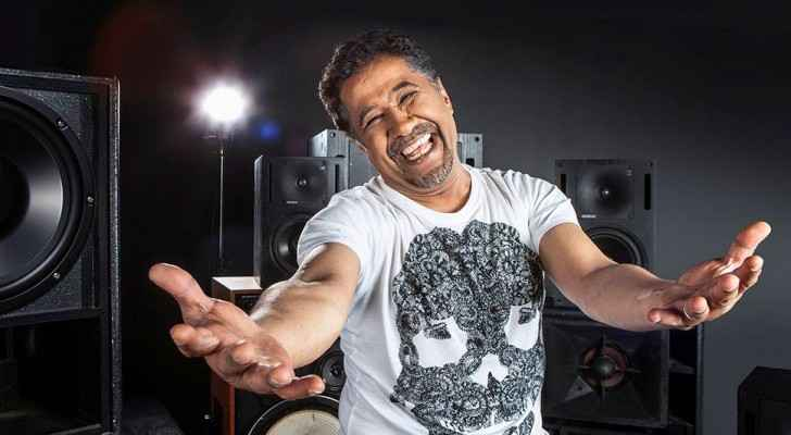 Cheb Khaled was in Amman to perform at a local music festival. (Facebook)