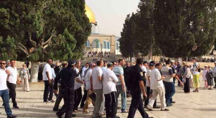 Israeli extremist break into Al Aqsa Mosque during Jewish  Sukkot Holiday.