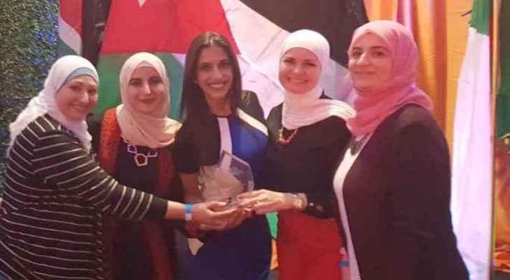 Jordanian women win the best tech project in U.S. TechWomen project