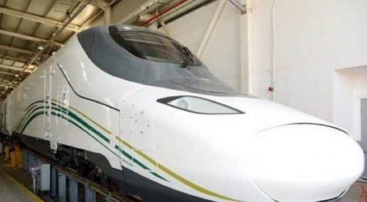 At least 60 million passengers are expected to ride the 450-km-long electric railway annually, via 35 trains. (Sky News Arabia)