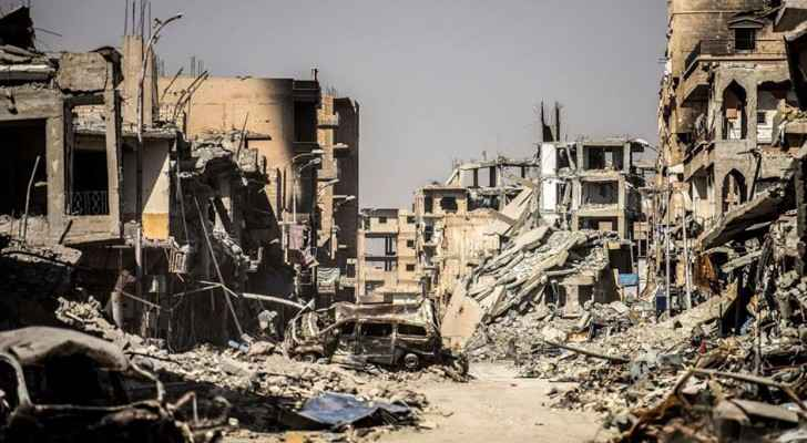 SDF forces retook Raqqa on Friday. (Photo: Raqqa is being slaughtered silently)