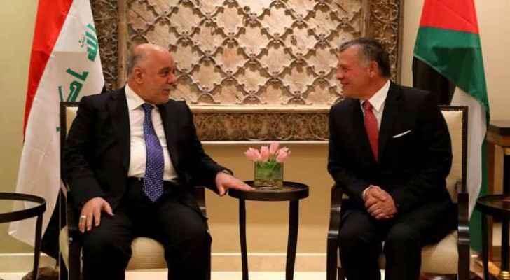His Majesty King Abdullah II and the Iraqi Prime Minister Nouri Maliki. (File photo)