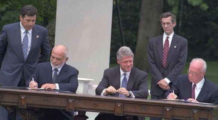 23 Years Of The Israeli Jordanian Treaty What Roya News