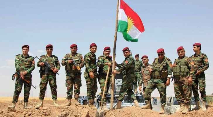 Peshmerga forces. (Wikimedia Commons)