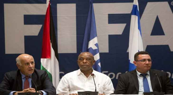 FIFA refuses to intervene in Palestinian-Israeli dispute