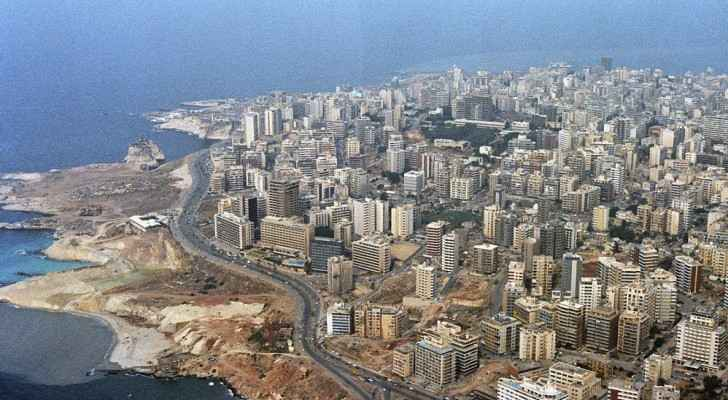 West Beirut and the Mediterranean shoreline. (Wikimedia Commons)