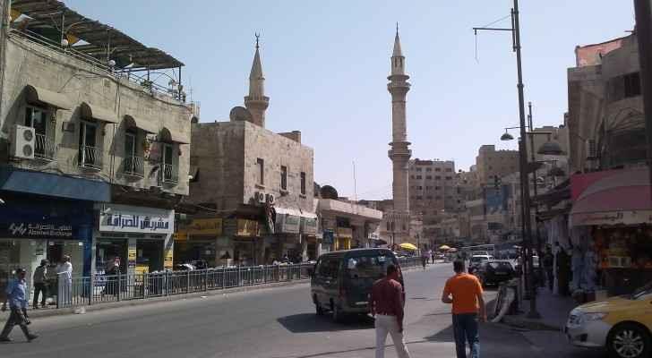 Downtown Amman (Wikimedia Commons)