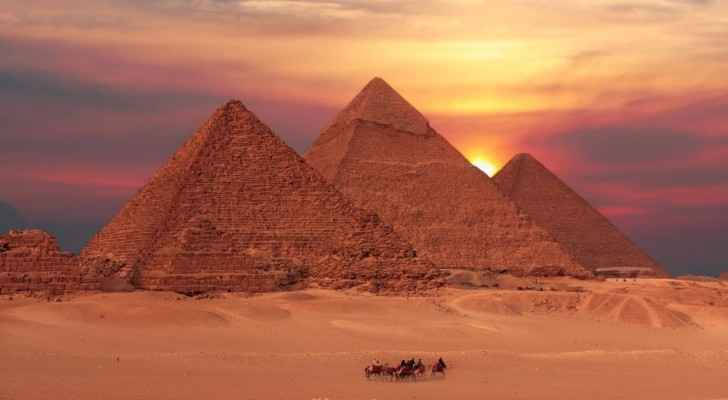 A cursed tomb was discovered near the pyramids this week. (Askideas.com)