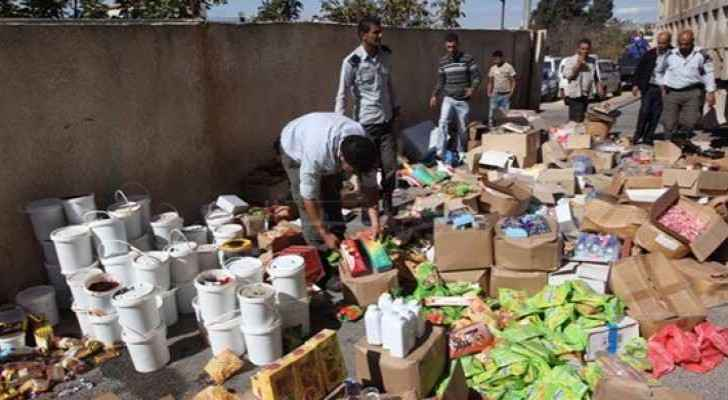 Mafraq is working to stop the trading of expired food. (File photo)