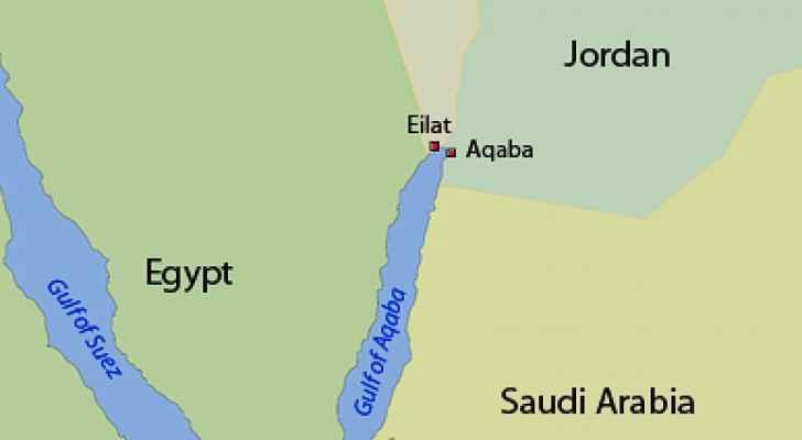 Jordan-Israel border.