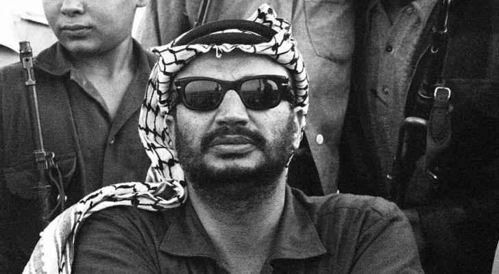 The iconic Palestinian leader, Yasser Arafat.