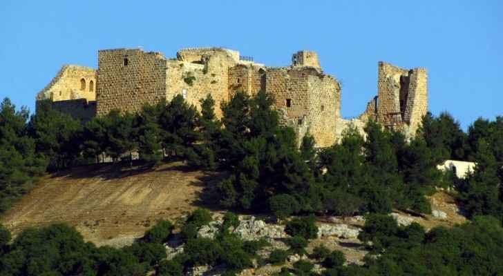 Ajloun Castle was built in 1184 by the Ayyubids. (Wikimedia)
