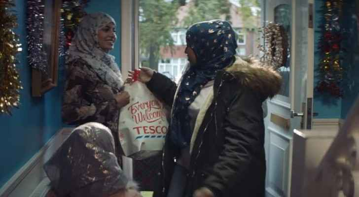 A scene from the Tesco Christmas ad. (YouTube)