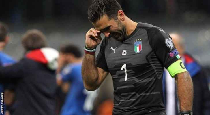 Gianluigi Buffon retires after the game.