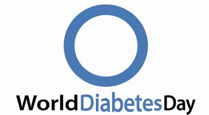 World Diabetes Day Official Logo used by WHO.