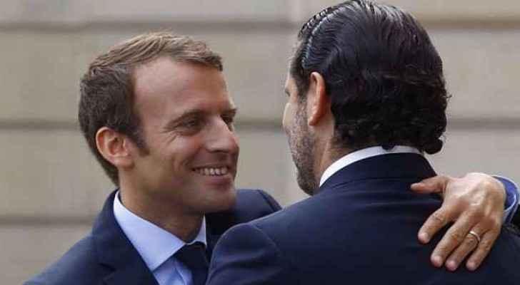 President Macron invites Lebanon's  Saad Hariri to France