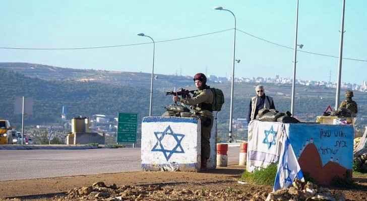 Two Israeli settlers were injured. (Twitter)