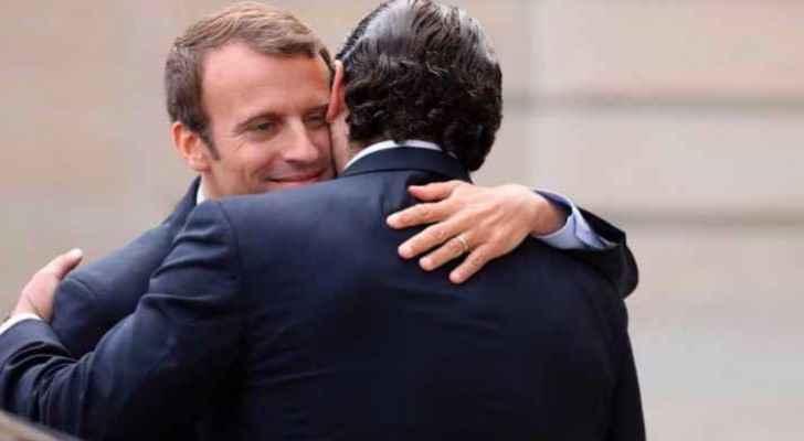Al-Hariri arrives in France