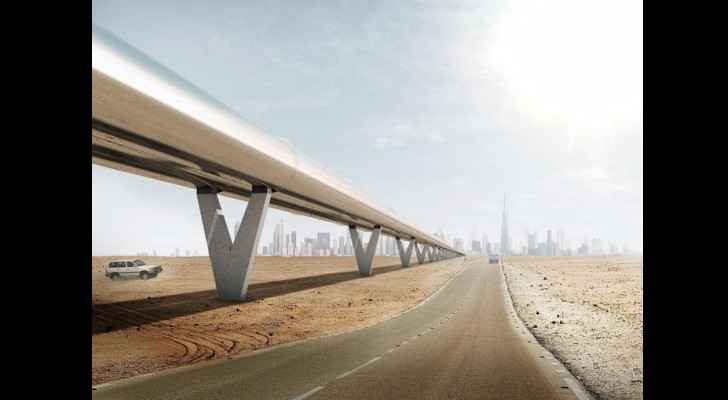 The Hyperloop train will connect GCC countries (The National)