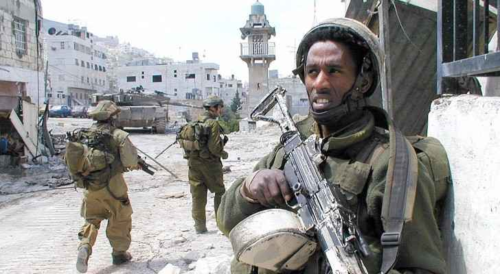 Israeli soldiers in Nablus. (Wikimedia Commons)