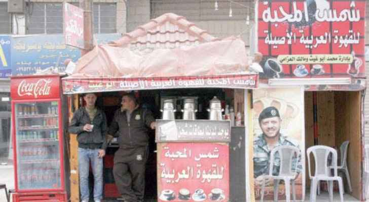 These coffee stalls are extremely popular in Jordan. (Aawsat.com)