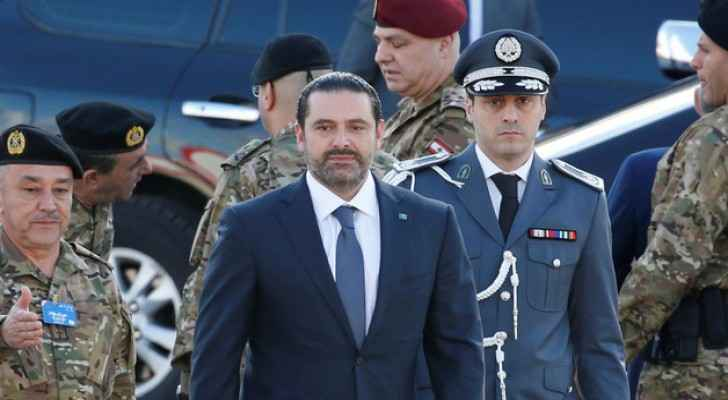 Saad Hariri in Beirut on Wednesday (Reuters)