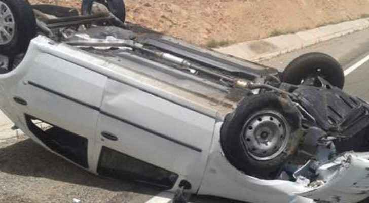Five were injured as a result of a car accident Friday in Abdoun, West Amman.