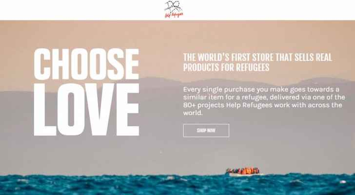 Choose Love: Want to help refugees? Buy | Roya News