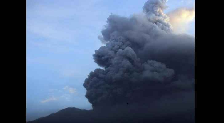 This is the second eruption in a month
