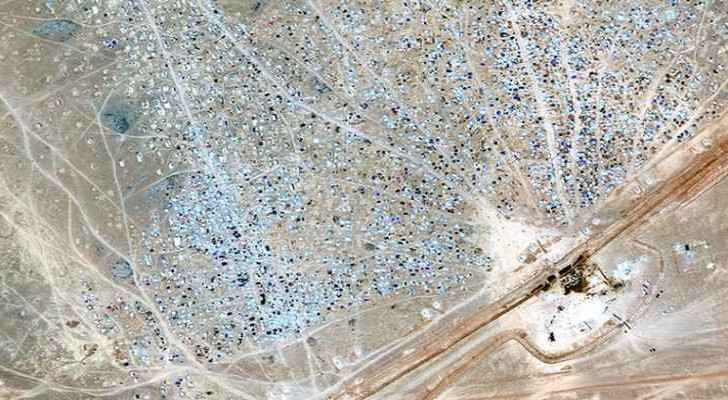 Rukban Camp (Digital Globe).