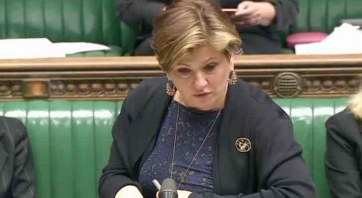 British shadow foreign secretary, Emily Thornberry. (Screengrab)