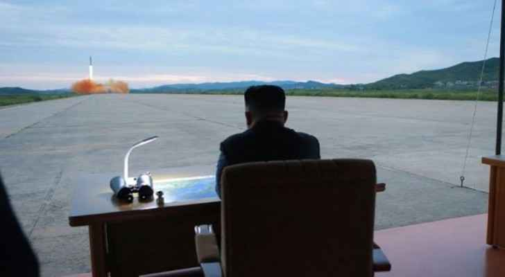 Kim Jong-Un monitors missile launch on August 30, 2017. (Photo: KCNA)