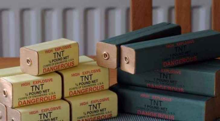 TNT explosives. (File photo)