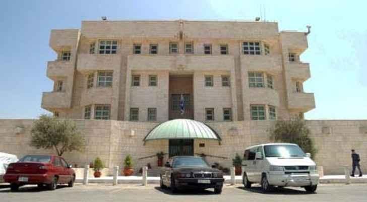 The Israeli embassy in Amman