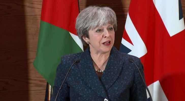 UK Prime Minister Theresa May is in Jordan.