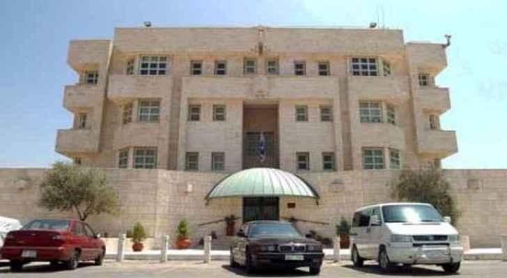 The Israeli embassy in Amman. (File photo)
