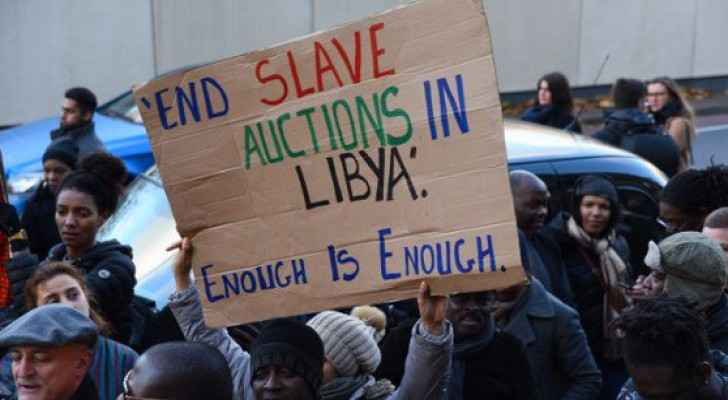 An estimated 700,000 migrants are in Libya. (Photo: Twitter)