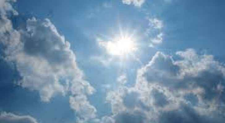 Sunny weather forecast for the next few days.