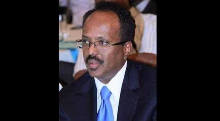 The Somali President, Mohamed Abdullahi Mohamed.
