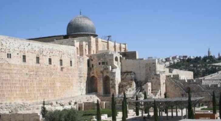 Al Aqsa Mosque in Jerusalem.