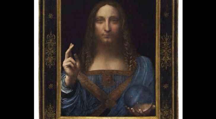 Da Vinci's Salvator Mundi.