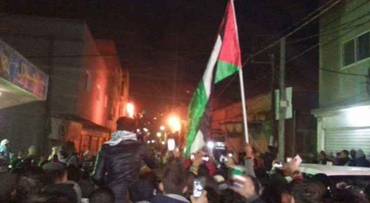 Jordanians protested around the kingdom. (Roya)