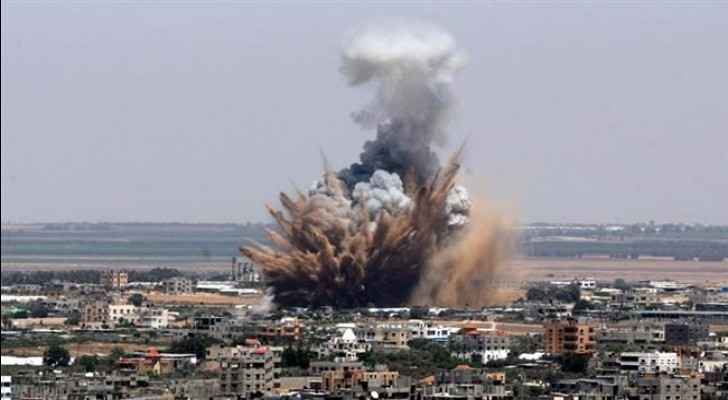 Israel launched series of airstrikes on Gaza late Friday. (Photo: Twitter-Press TV)