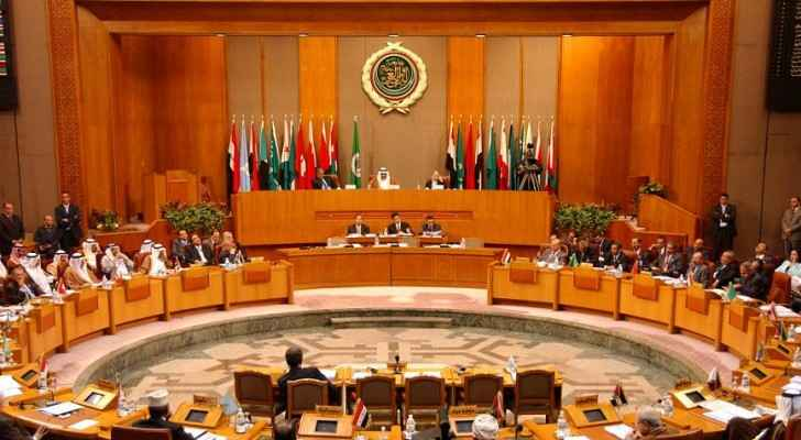 Arab League's meeting in March, 2017 (Al-Manar TV)