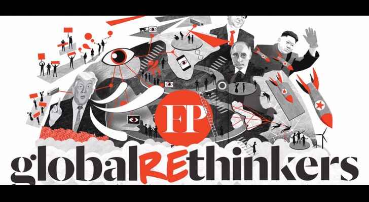 The Foreign Policy released the list of Leading Global re-Thinkers for 2017. (Foreign Policy)