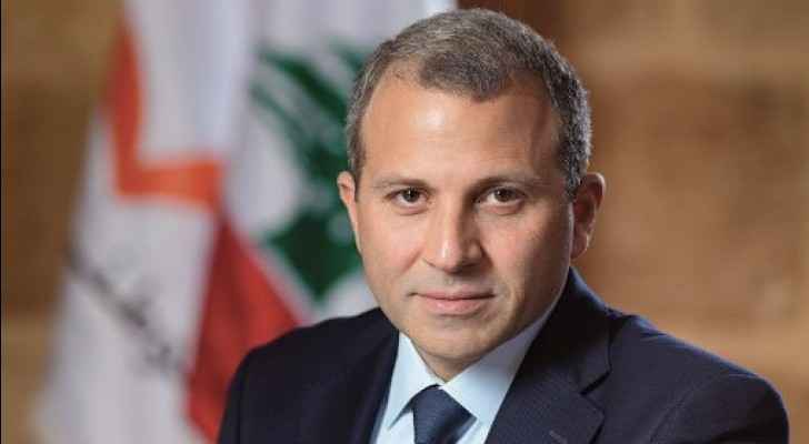 Lebanon's Foreign Minister Gebran Bassil. (Twitter)