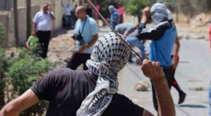 Palestinian demonstrators continue to clash with the Israeli forces.