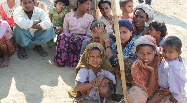 Displaced Rohingya people in Rakhine State (8280610831) (cropped).jpg More details Displaced Rohingya people in Rakhine State. (Wikimedia Commons)