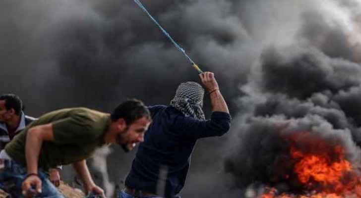 Photos from clashes erupted between Palestinians and Israeli forces in the West Bank. (Roya Palestine)