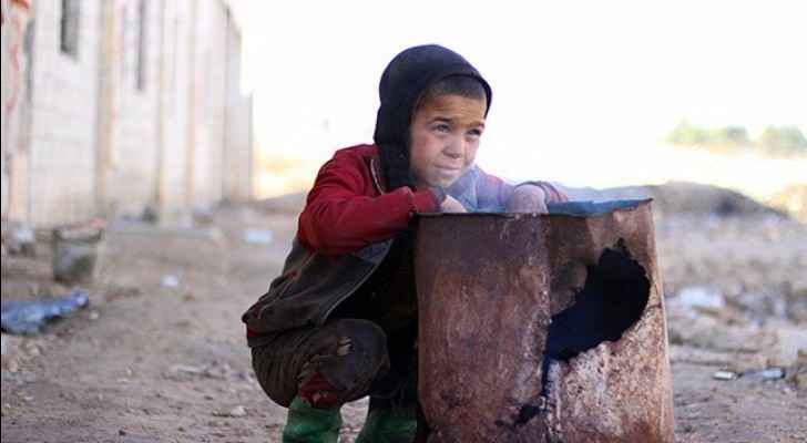 A child in besieged Eastern Ghouta. (Photo from: United Nations Website)